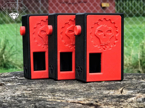 Infamous Vapes Squonk Box by: B.A.M