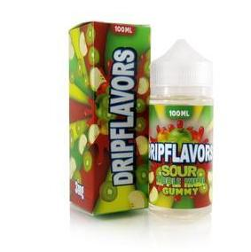 Sour Apple Kiwi Gummy by Drip Flavors