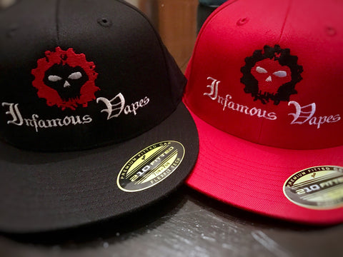 Infamous Vapes Fitted Hat