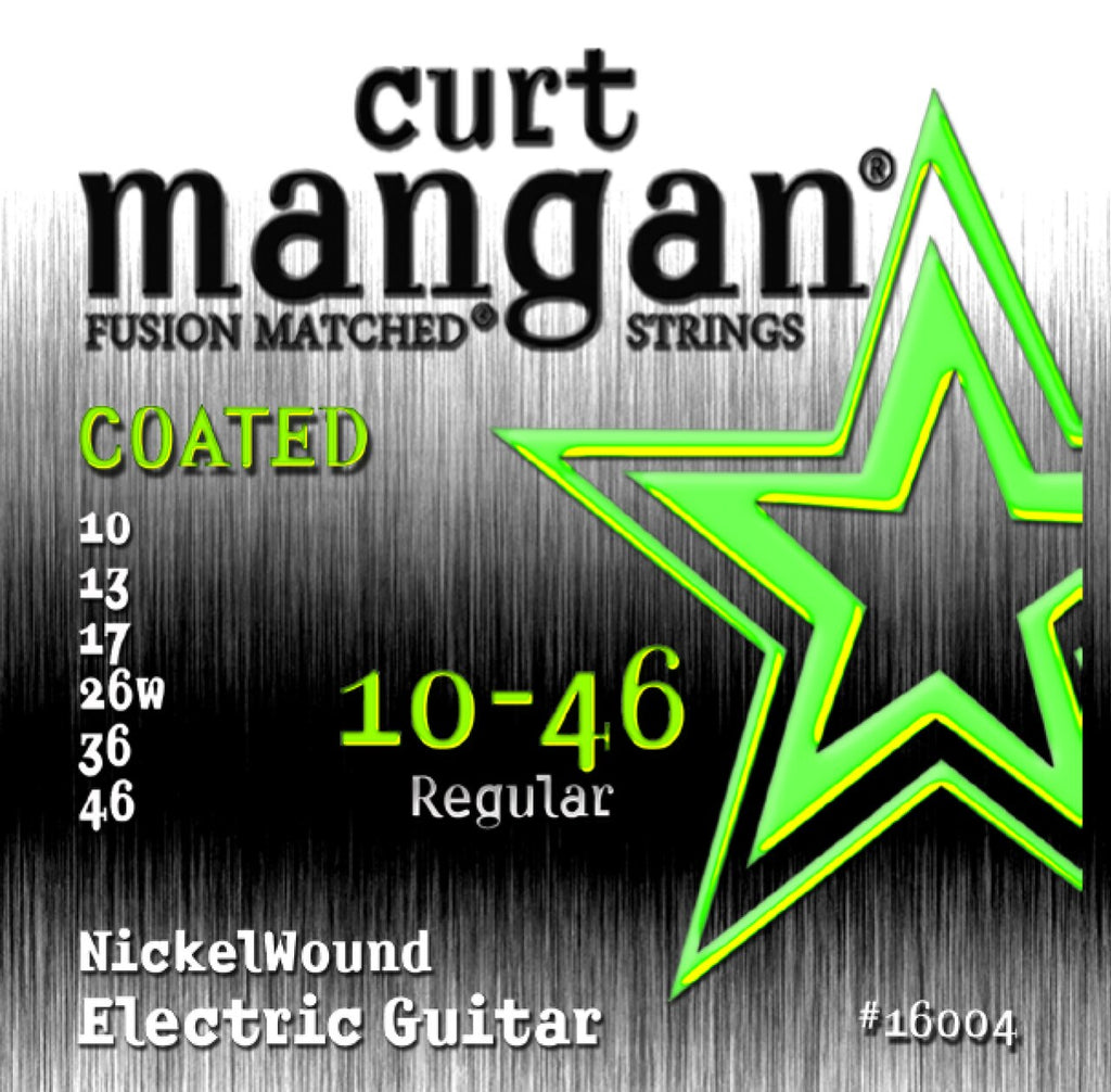 CURT MANGAN 10-46 REGULAR NICKELWOUND ELECTRIC GUITAR STRINGS