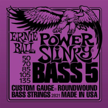Ernie Ball Power Slinky Bass 5-String (2821)