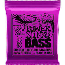 Ernie Ball Power Slinky 4-String bass Strings