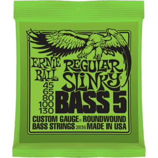 Ernie Ball Regular Slinky 5-String Bass (.045-.130)