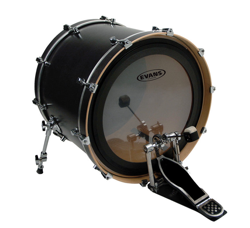 "Evans EMAD2 22"" Clear Kick Dum Head"