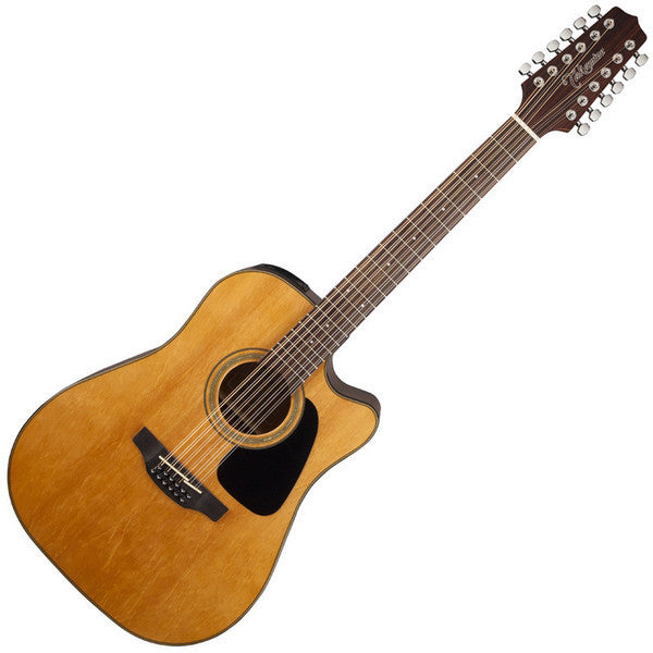 Takamine G series A/E Guitar 12-String GD30CE (Natural)