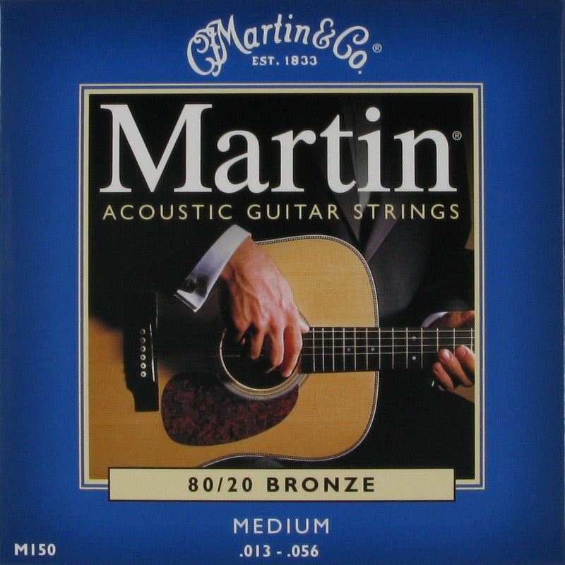 Martin Acoustic Guitar Strings Medium (.013-.056)