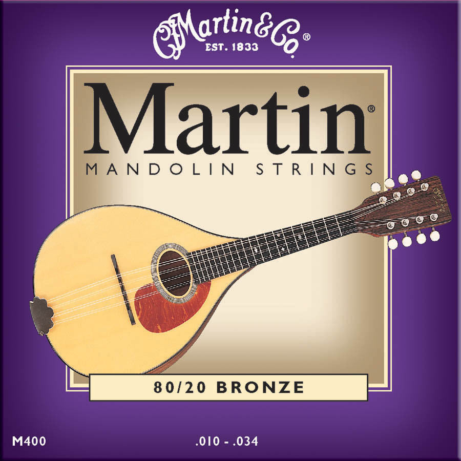 Martin Mandolin Strings (.010-.034)
