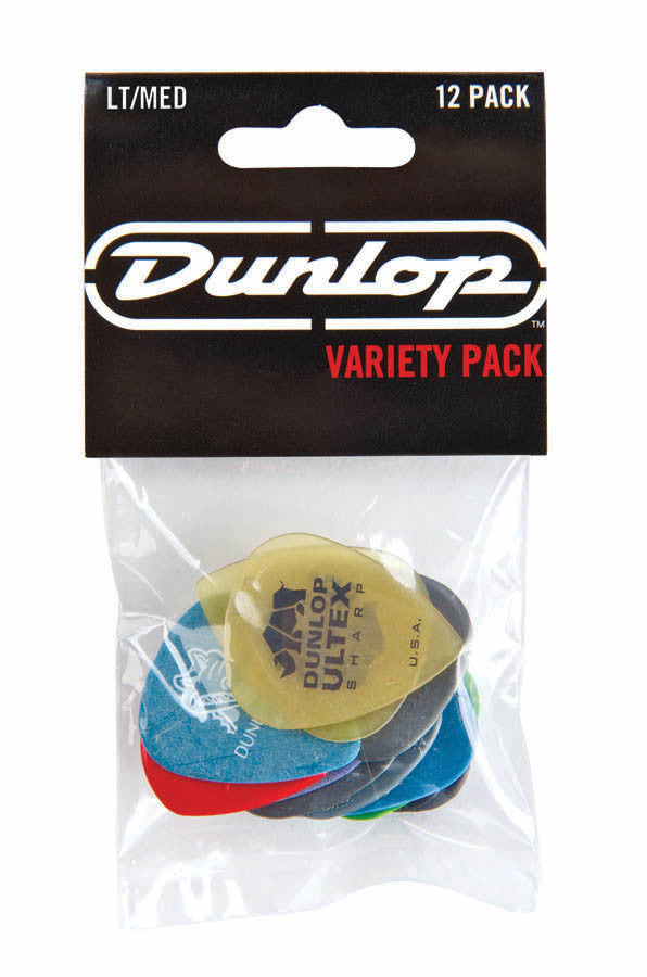 Dunlop Variety Pick Pack Light/Medium