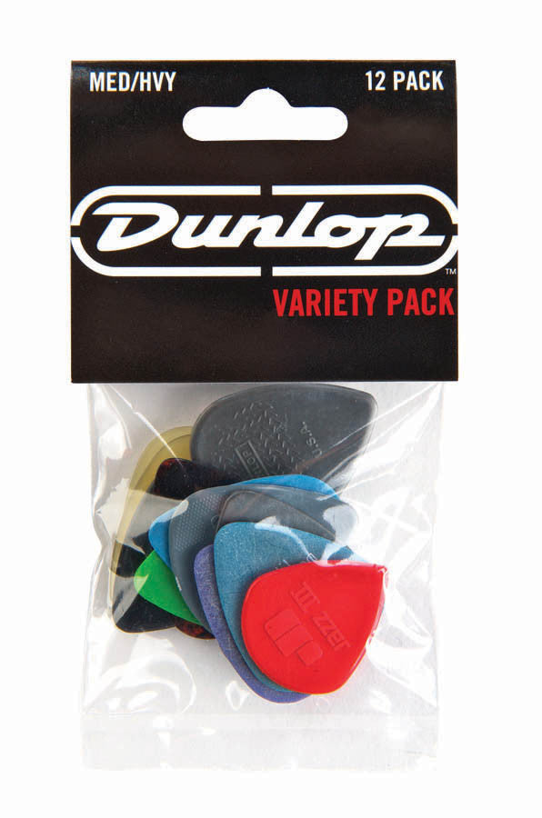 Dunlop Variety Pick Pack Medium/Heavy