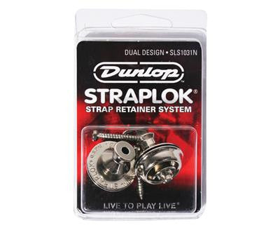 Dunlop StrapLok Dual Design (Chrome)
