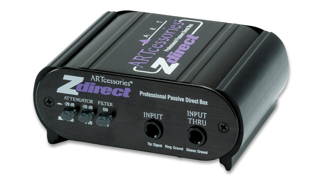 ZDIRECT PROFESSIONAL PASSIVE DIRECT BOX