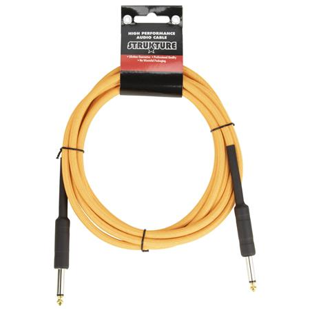 STRUKTURE 10' NEON ORANGE INSTRUMENT CABLE