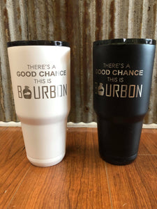Engraved 30oz. tumbler