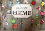 Interchangeable Home Sign Package