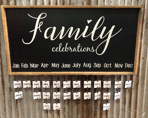 Family Celebrations Package