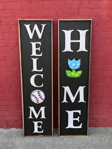 Large Interchangeable Home Sign Package