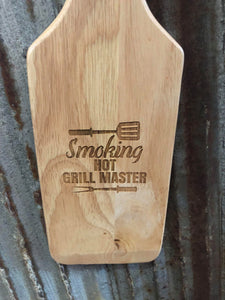 Wooden Grill Brush