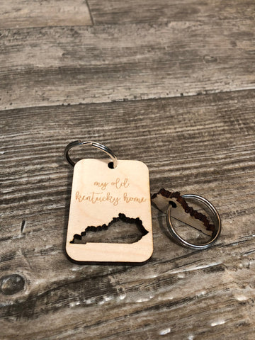 My Old Kentucky Home Keychain (2pc.)