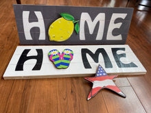 Load image into Gallery viewer, Small Interchangeable Home Sign Package