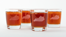 Load image into Gallery viewer, Kentucky Bourbon Glasses (Set of 4)