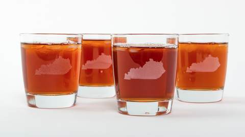 Kentucky Bourbon Glasses (Set of 4)