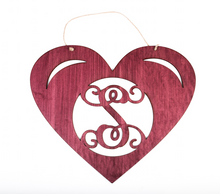 Load image into Gallery viewer, Heart Monogram