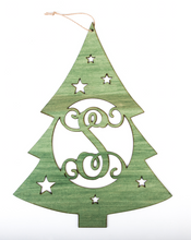 Load image into Gallery viewer, Christmas Tree Monogram