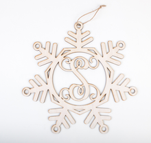 Load image into Gallery viewer, Snowflake Monogram