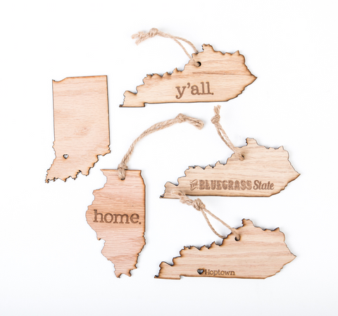 Kentucky Ornaments/Magnets
