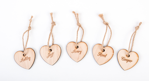 Family Tree Tags Pack of 5
