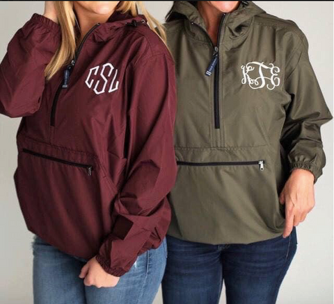 Adult Pack N Go rain pullover ROUND 2 PREORDER