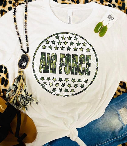 Armed Forces Camo Tees