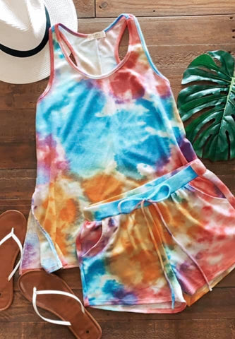 Custom tie dyed sets