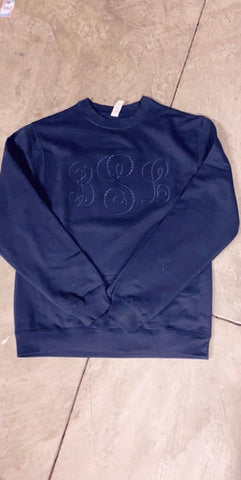 Applique and Monogram Sweatshirts