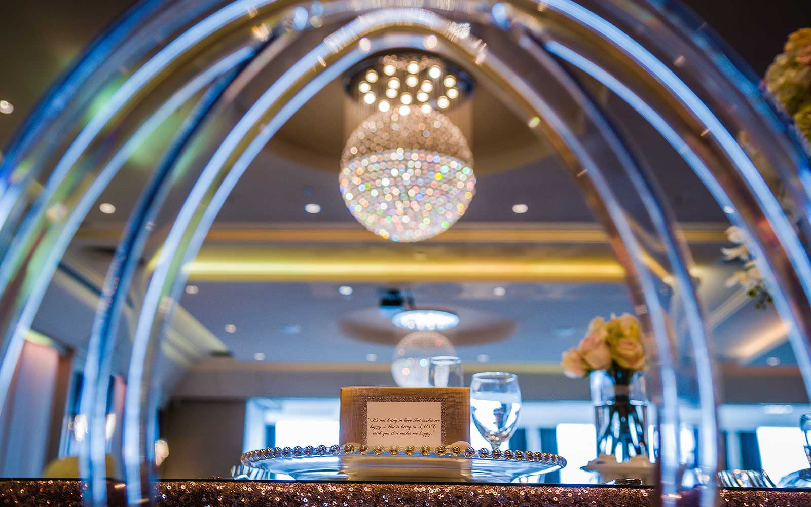 Le Crystal Reception Halls - Le Diamant