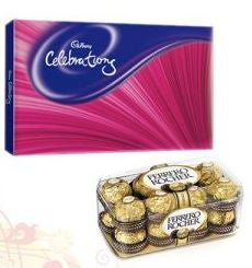 Cadbury Celebration and Ferrero Rocher - GoSendGift.com