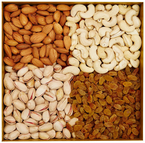 1 KG assorted dry fruits - GoSendGift.com