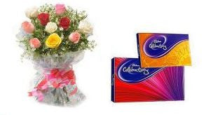 Flowers N Cadbury Celebration - GoSendGift.com