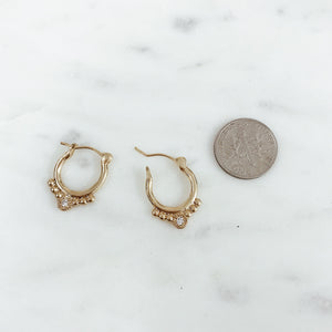 Rosa Earrings Earrings - Stargaze Jewelry