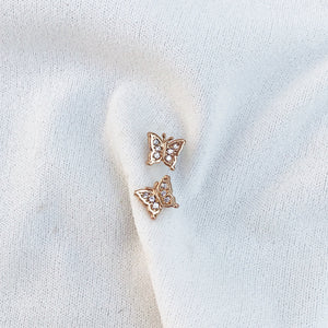 Butterfly Studs Earrings - Stargaze Jewelry
