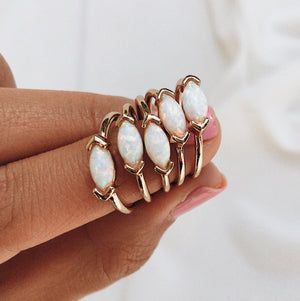 Itsy Opal Ring Rings - Stargaze Jewelry