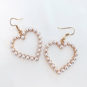 Pearl Amour Earrings Earrings - Stargaze Jewelry