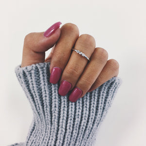 Dainty Leah Ring Rings - Stargaze Jewelry