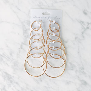 Hoop Earring Set Earrings - Stargaze Jewelry