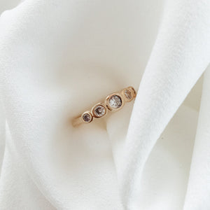 Diamond Burst Ring Rings - Stargaze Jewelry
