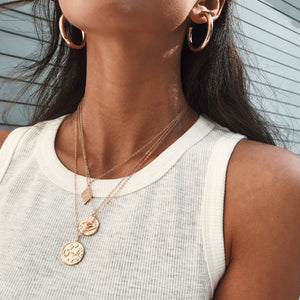 Lucky Coin Necklace Necklaces - Stargaze Jewelry