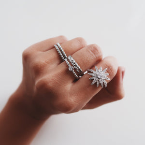 Starburst Ring Rings - Stargaze Jewelry