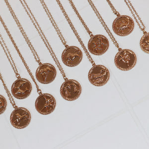 Zodiac Coin Necklace Necklaces - Stargaze Jewelry
