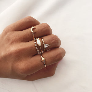 Crescent Ring Rings - Stargaze Jewelry