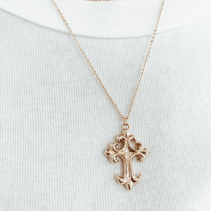 Chloe Cross Necklace